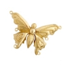 Bronze Clasp Butterfly 28x12mm